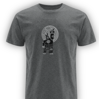 rocketman dark heather classic organic t-shirt